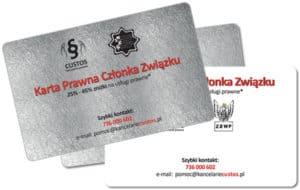 Karty Custos dla związków zawodowych