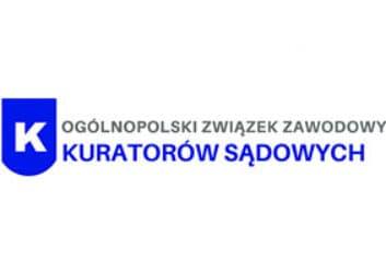 Logo Ogólnopolskiego Związeku Zawodowego Kuratorów Sądowych